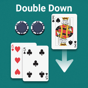 Double Down Bet Blackjack