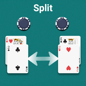 Split Bet Blackjack