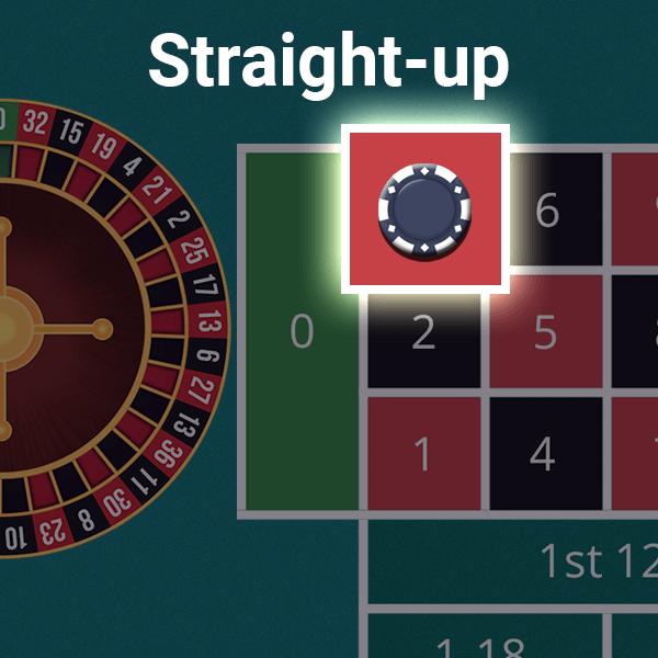 Straight Up Bet