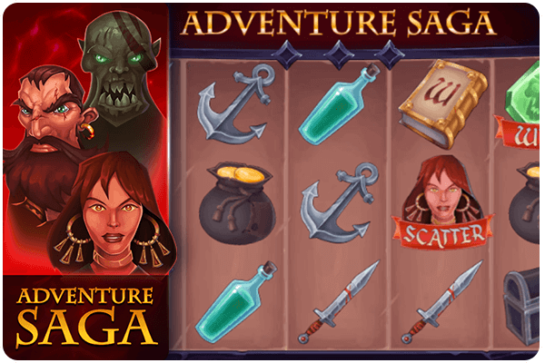 Adventure saga online slot