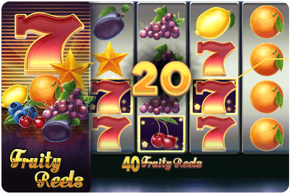 40 fruity reels slot online
