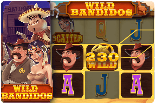 Wild bandidos casino game